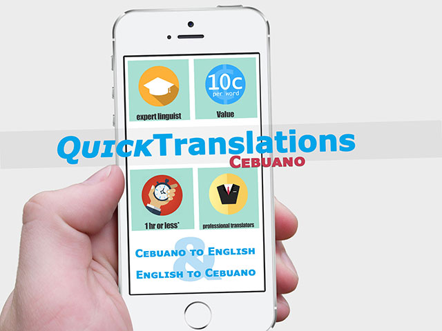 Cebuano Quick Translation